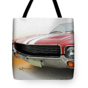 Amx Leaning-in Tote Bag