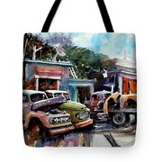 Dreamboat Woodworks Tote Bag