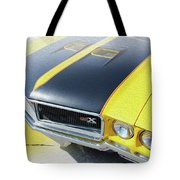 Streakin' Yellow Buick Tote Bag