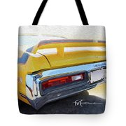 Screamin' Yellow Buick Tote Bag