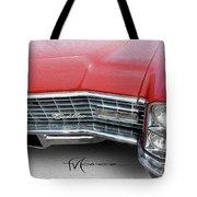 Redhead Cadillac Tote Bag