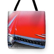 Whole Lot Of Red Tote Bag