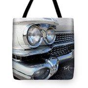 Candid Cadillac Tote Bag