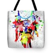 Dreamcatcher Grunge Tote Bag