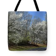 Dreamin' Of A White Spring No.5 Tote Bag