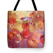 Dreaming Flowers Tote Bag