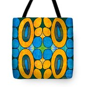 Dreaming In Circles Abstract Hard Candy Art By Omashte Tote Bag