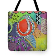 Dreaming In Colour Tote Bag