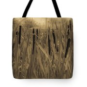Dreaming Of Cattails Tote Bag