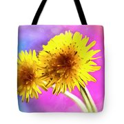 Dreaming Of Dandelions Tote Bag