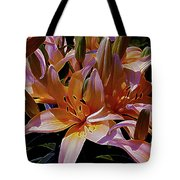 Dreaming Of Lilies 5 Tote Bag