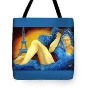 Dreaming Of Paris Tote Bag