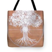 Dreaming Of Sundogs Tote Bag by Brandy Woods