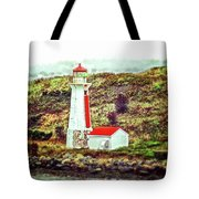 Dreaming Of The Georges Island Light In Halifax Tote Bag