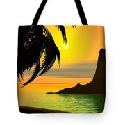 Dreaming On A Cold January Day Tote Bag