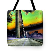 Dreaming Over The Skyway Tote Bag