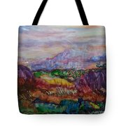 Dreaming Pikes Peak Tote Bag