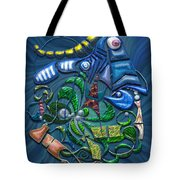 Dreaming With The Fishes Tote Bag