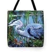 Dreamland Great Blue Heron Tote Bag