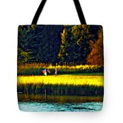 Dreams Can Fly Paint Tote Bag