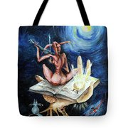 Dreams On A Moonlit Night Tote Bag