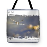 Dreams Take Flight Poster Or Card Tote Bag
