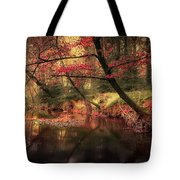 Dreamy Autumn Forest Tote Bag