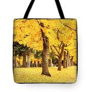 Dreamy Autumn Gold Tote Bag