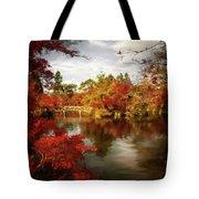 Dreamy Autumn Impressionism Tote Bag