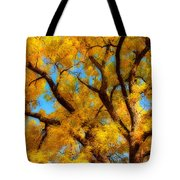 Dreamy Crisp Autumn Day Tote Bag