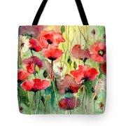 Dreamy Hot Summer Fields Tote Bag