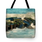 Dreamy Jetty - Jersey Shore Tote Bag