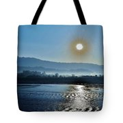 Dreamy Morning On The Ganges Tote Bag