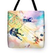 Dreamy Pastel Carnival Tote Bag