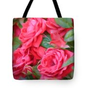 Dreamy Red Roses - Digital Art Tote Bag