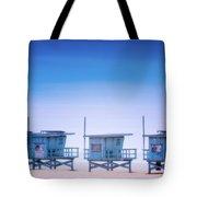 Dreamy Santa Monica Beach Tote Bag