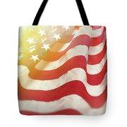 Dreamy Usa Flag 1 Tote Bag