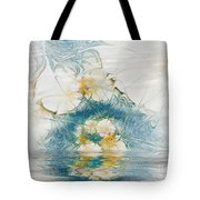 Dreamy World In Blue Tote Bag