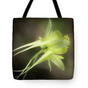 Dreamy Yellow Columbine Tote Bag