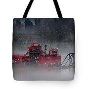 Dredge In Fog 2 Tote Bag