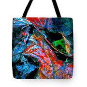 Drenched In Color Tote Bag