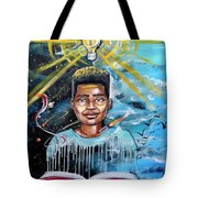 Drenched In Knowledge Tote Bag