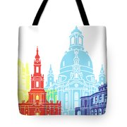 Dresden Skyline Pop Tote Bag