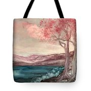 Dressed In Pink Tote Bag