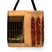 Dried Chilis And Window Tote Bag