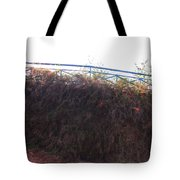 Dried Fence Tote Bag