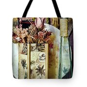 Dried Floral Still Tote Bag