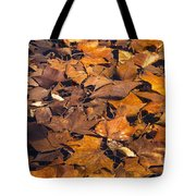 Dried Leaves Tote Bag