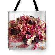 Dried Organic Carnation Petals Tote Bag