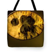 Dried Out Leaf With Seeds Tote Bag